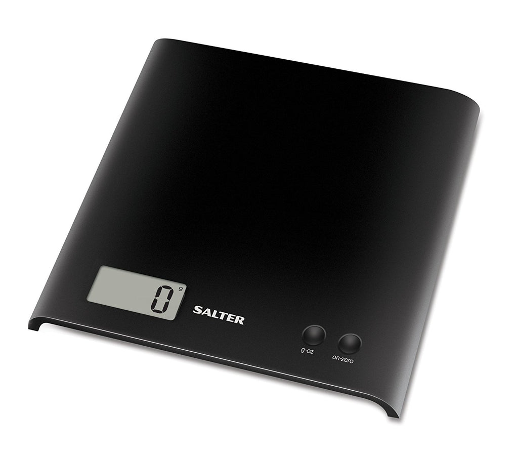Salter Black Electronic Platform Kitchen Scale 1066 - Home & Living