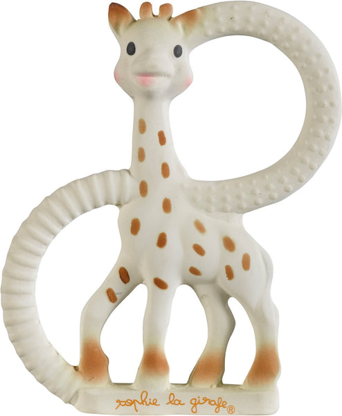 Sophie The Giraffe So Pure Teething Ring Soft Version (White) - Mother Baby & Kids