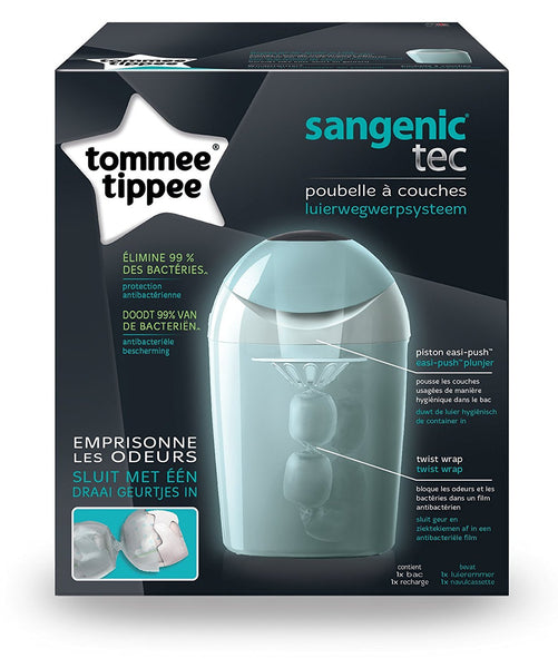 Tommee Tippee Sangenic Tec Nappy Disposal Tub (Green)