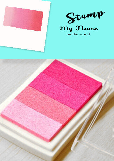 Versacraft Pink tone Ink pad for Fabric, Paper, Wood and more