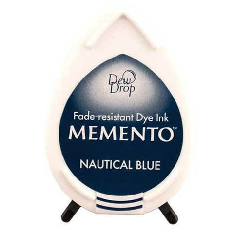 Memento Ink pad Nautica Blue Fade resistant Dye ink