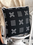 Black & White Cushion - SEASIDE INTERIORS & UPHOLSTERY