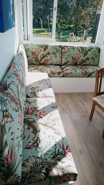 Window Dining Seat - SEASIDE INTERIORS & UPHOLSTERY