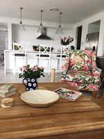 Floral Arm Chair - SEASIDE INTERIORS & UPHOLSTERY