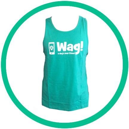 Men's Green Tank Top