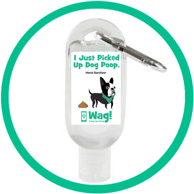 """I Just Picked Up Dog Poop"" Hand Sanitizer"