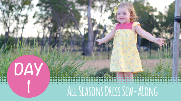 Sew Along - All Seasons Dress - Day 1