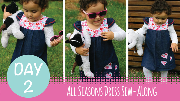 Sew Along - All Seasons Dress - Day 2