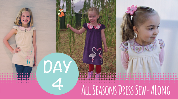 Sew Along - All Seasons Dress - Day 4