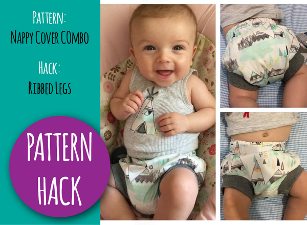 PATTERN HACK - Ribbed Leg Nappy Cover