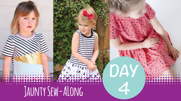 Sew Along - Jaunty Dress Day 4