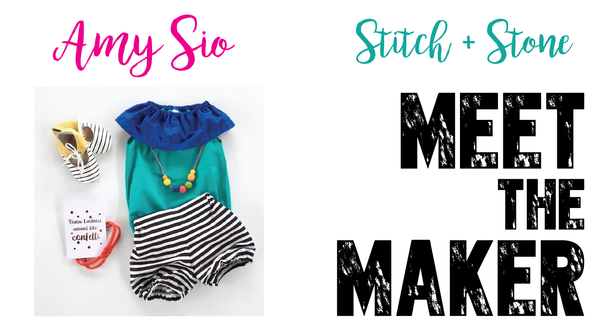 Meet The Maker - Amy Sio - Stitch+Stone Handmade