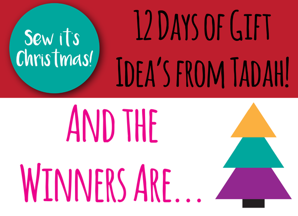 SEW IT'S CHRISTMAS - Winners announced!
