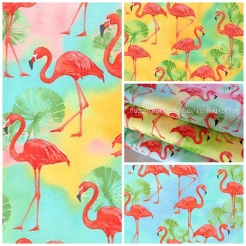 flamingo fabric collection