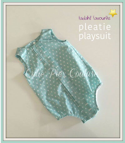 pleatie playsuit