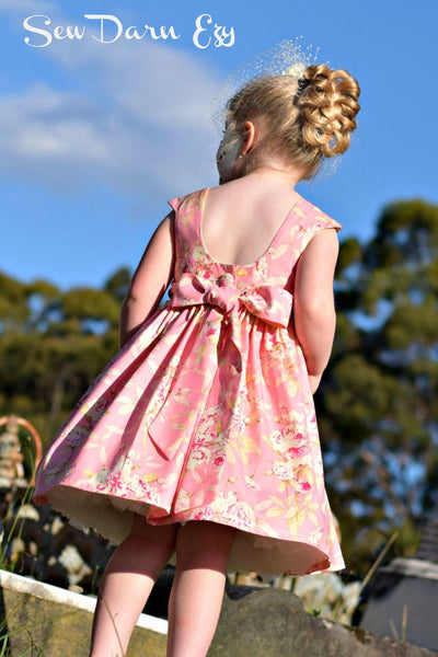 Tea Party Dress Sewing Pattern - Tadah Patterns + Sewing - photo #40