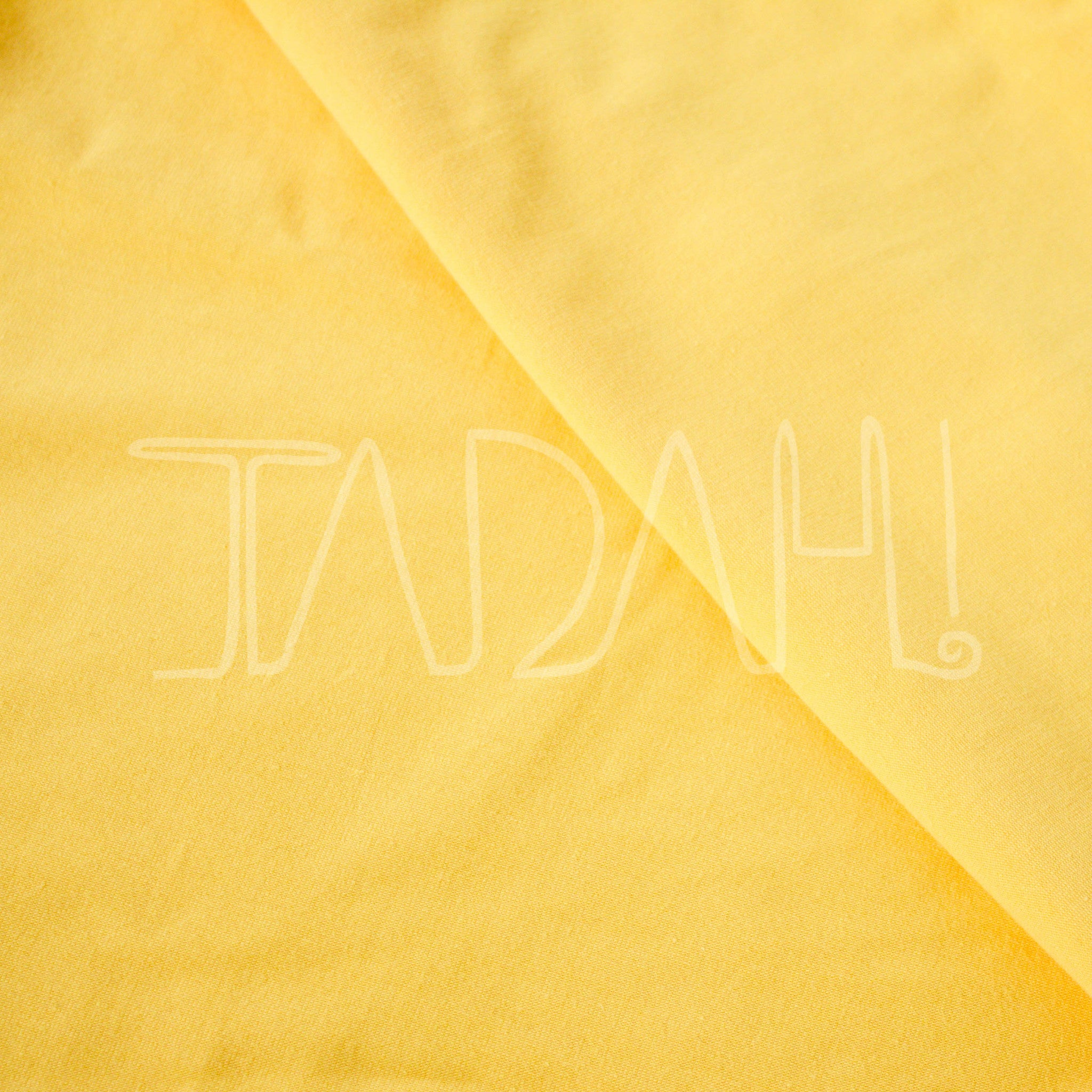a36a9c28a93 American Mustard Yellow - Solid - Organic Knit Fabric - Tadah Patterns +  Sewing