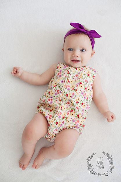 Pleatie Playsuit Sewing Pattern - Tadah Patterns + Sewing