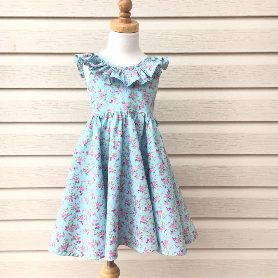 Tea Party Collar Add-On - Tadah Patterns + Sewing