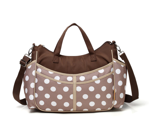 Diaper Bag Tote Polka Dot