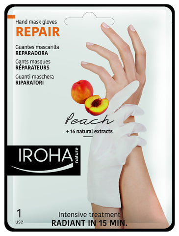 PEACH Regenerating Glove Mask