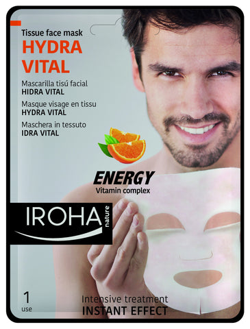 IROHA Nature Intensive Treatment Mens Hydra Vital Tissue Mask