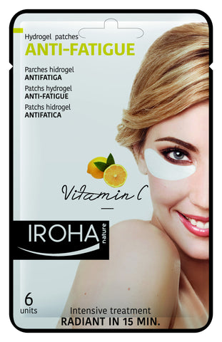 IROHA Nature Eye Pads - Anti Fatigue - Vitamin C (3 uses)