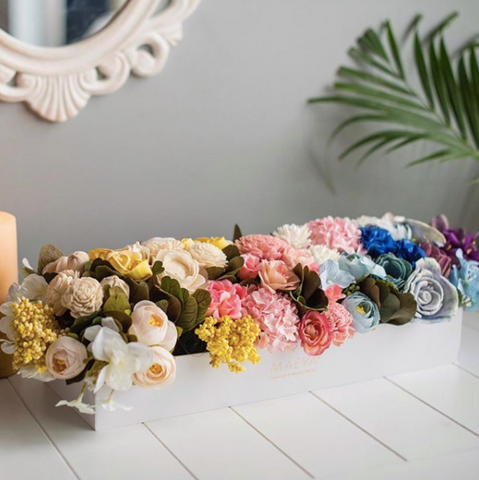 Table decor, dried flowers online