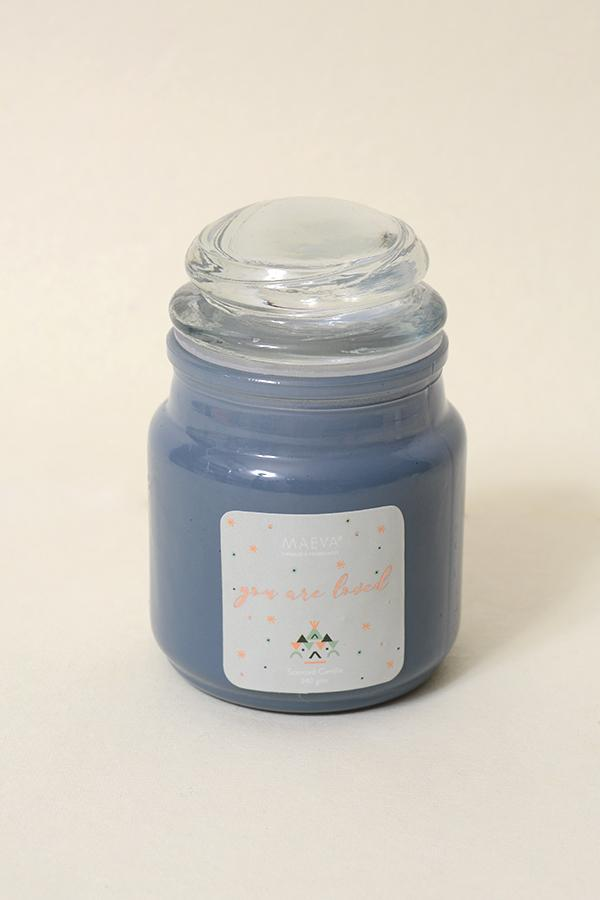 Grey 3 Oz Candle