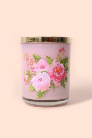 Pink Champagne 15 Oz Candle