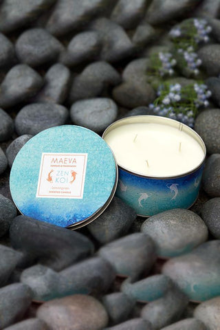 Spa 3 Wick Tin Scented Candle