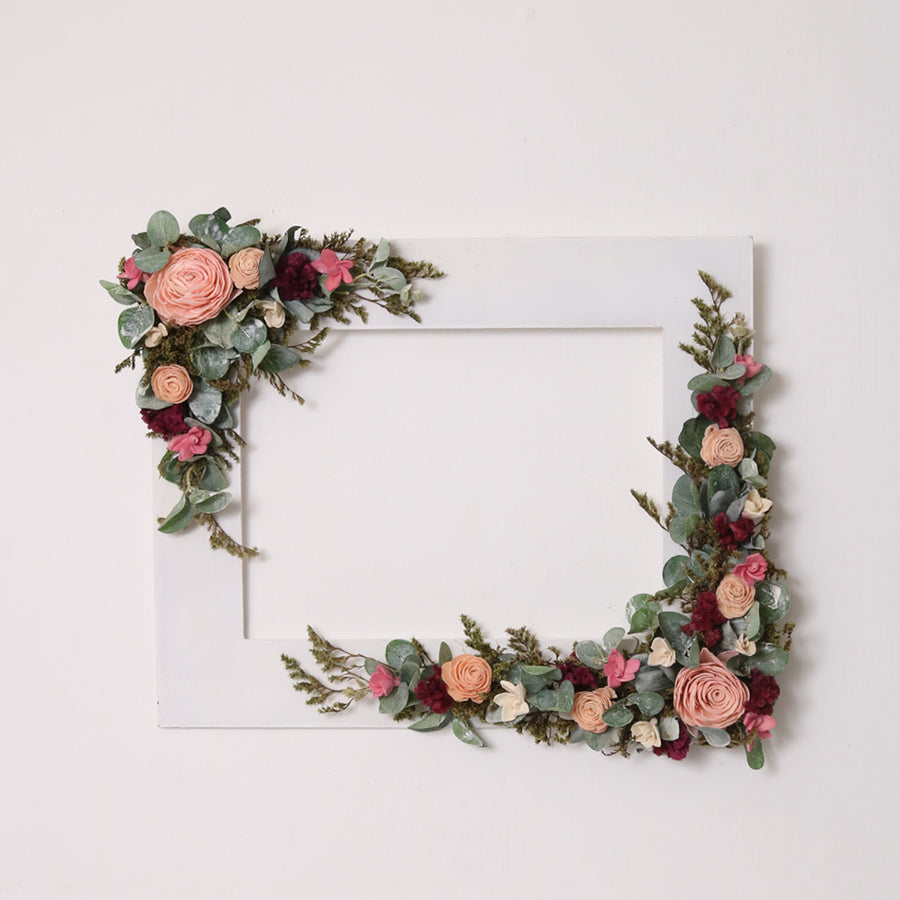 Parisian Beauty Floral Frame