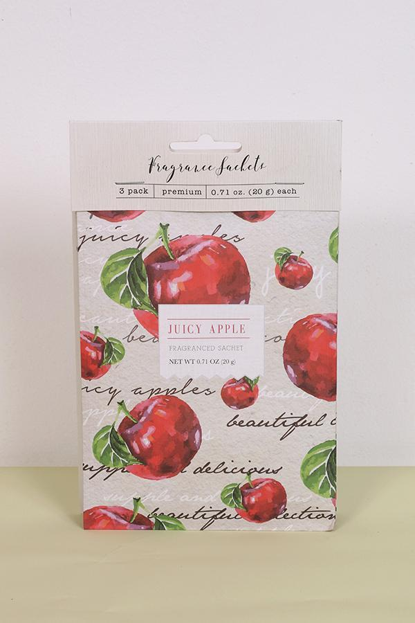 Juicy Apple Sachets - Pk of 3