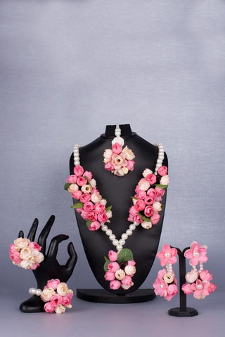 Amira Floral Jewellery Set