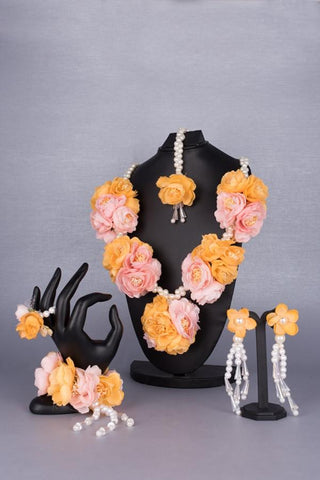 Abeer Floral Jewellery Set