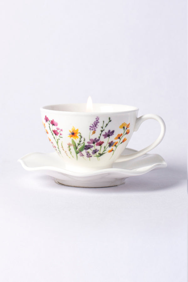 Alice Tea Cup Candle