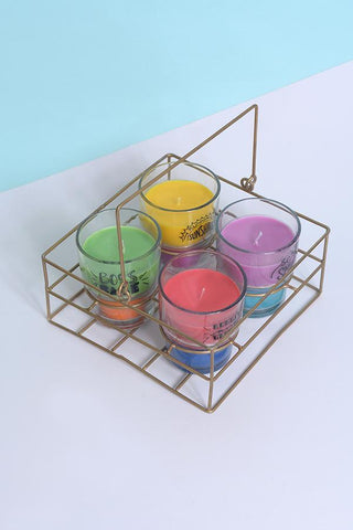 Quirky Tea-Glass Candles