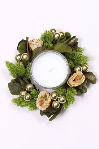 Enchanting Forest Dried Flower Wreath