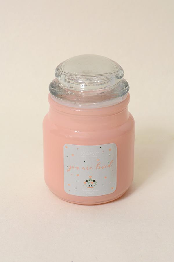 Pink 3 Oz Candle