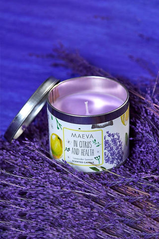 Get Well Soon Tin Scented Candle With Window Lid