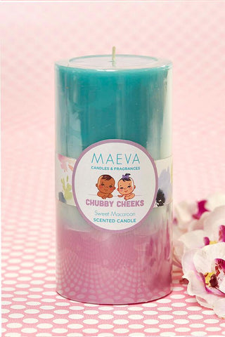 Baby Shower Pillar Candle - L