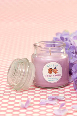 Baby Shower Scented Jar Candle - 3 OZ