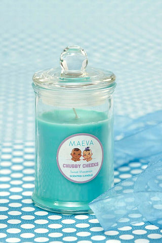 Baby Shower Small Bell Jar Scented Candle