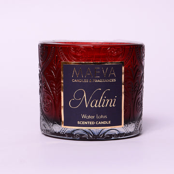 Maeva Nalini Embossed Glass Candle