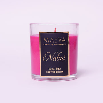 Nalini Clear Glass Candle