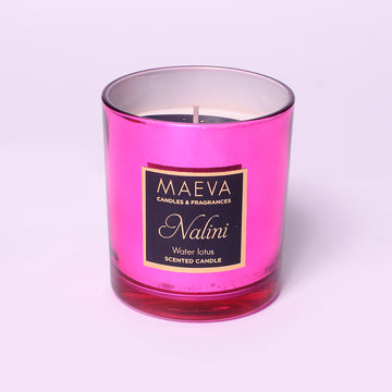 Nalini Metallic Glass Candle