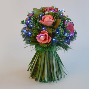 Color Burst LED Bouquet