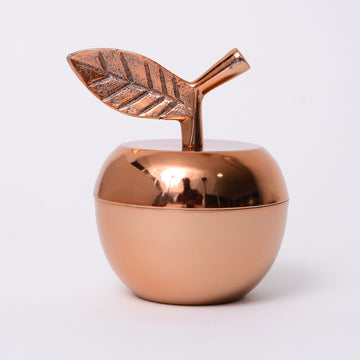 Metal Fruit Candle - APPLE