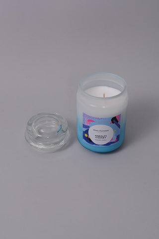 Amalfi Coast Bubble Jar Candle - LARGE