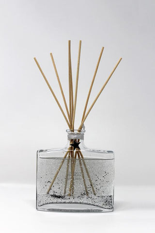 Silver Snowflake Reed Diffuser